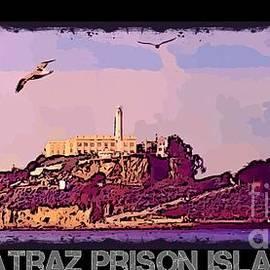 John Malone - Alcatraz Prison Poster