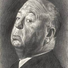 Alfred Hitchcock by Michael Morgan
