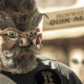 Randy Turnbow - Alien Biker