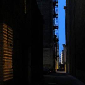 Anita Burgermeister - Alley at Night