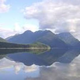 Alouette Lake Panoramic Reflections - Golden Ears Provincial Park, Maple Ridge, British Columbia by Ian Mcadie