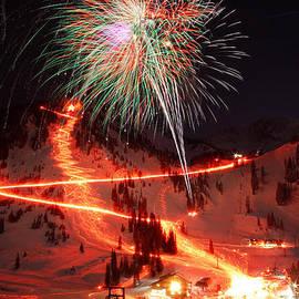 Brett Pelletier - Alta New Year Celebration and Torchlight Parade
