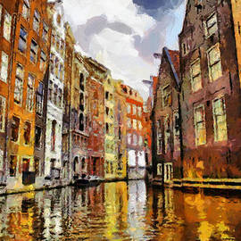 Georgi Dimitrov - Amasterdam Houses in the water