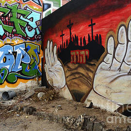 American Graffiti New Mexico 2 by Bob Christopher