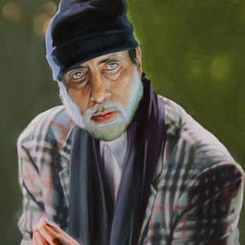 Dominique Amendola - Amitabh Bachchan Portrait