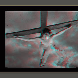 Ramon Martinez - Anaglyph Black Female Jesus