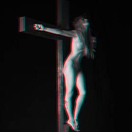 Ramon Martinez - Anaglyph Dark Crucifix