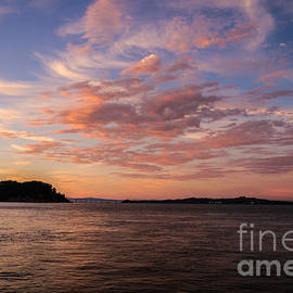 Mitch Shindelbower - Angel Island Sunset