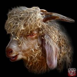 Angora Goat - 0073 F by James Ahn