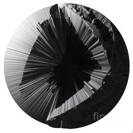 Paul Davenport - Angst III painting as a Spherical Depth Map. 2