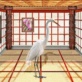 Mike Savad - Animal - The Egret