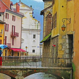 Annecy France by Susan E Robertson