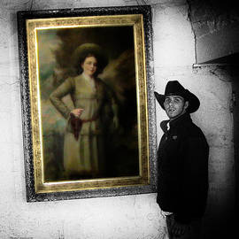 Thomas Woolworth - Annie Oakley With A Cowboy