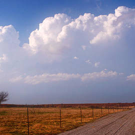 Another Oklahoma day by Toni Hopper
