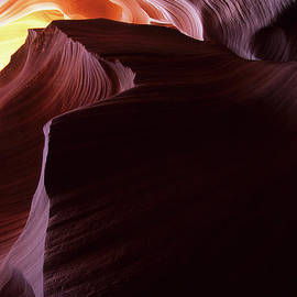 Antelope Canyon Sandstone Magic by Bob Christopher