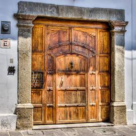 Antiqua Door 1 by Victor Marsh