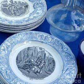 France  Art - Antique Bleu