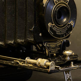 Antique Camera in Black and White by Paul Ward