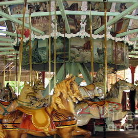 Antique Dentzel Menagerie Carousel in Rochester New York