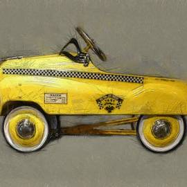 Antique Pedal Car lll by Michelle Calkins