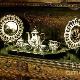 Antique Tea Set by The Art of Alice Terrill