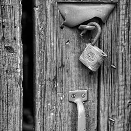 Jeff Burton - Antique Yale Lock