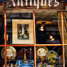 Antiques in the Window by Colleen Kammerer