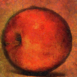 Apple A Day-Abstract Realism by Georgiana Romanovna