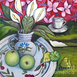 Apples and Lilies by Caroline Street
