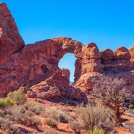 Arch On A Rise by John M Bailey