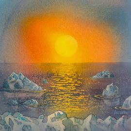 Arctic Ice by Teresa Ascone