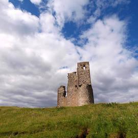 Ardvreck Castle Portrait by Michaela Perryman