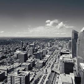 Lisa Knechtel - Arial view of Calgary facing West