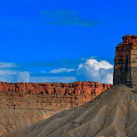Arizona Desert Mesa by Gene Sherrill