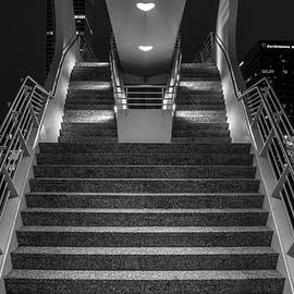 Chuck De La Rosa - Art Stairs