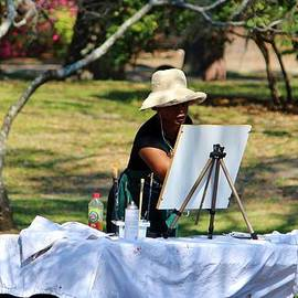 Cynthia Guinn - Artist At The Park