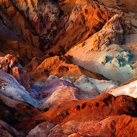 Bob and Nadine Johnston - Artists Palette2 Death Valley National Park