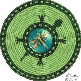 Ashlee's Dragonfly Turtle by Douglas K Limon