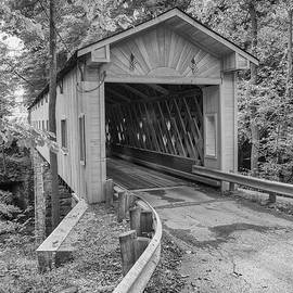 Ashtabula Collection - Warner Hollow Bridge  7k02090 by Guy Whiteley