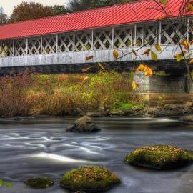 Ashuelot Covered Bridge 3 by Joann Vitali