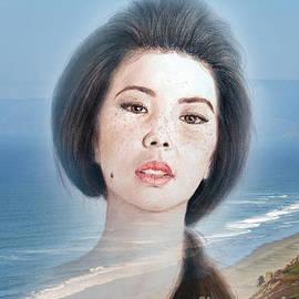 Jim Fitzpatrick - Asian Beauty Fade to Ocean Photograph