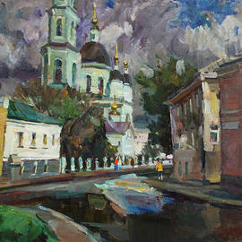 Juliya Zhukova - At the church Sergius in Moscow