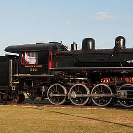 Atlantic and Western 2-8-0 #542 Spencer North Carolina by John Black
