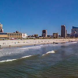 Charles A LaMatto - Atlantic City Beach Panorama