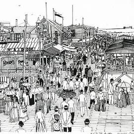 Ira Shander - Atlantic City Boardwalk 1890