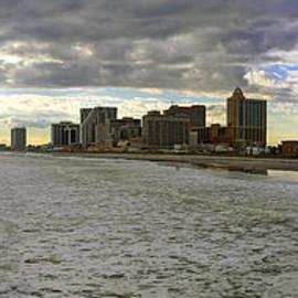 Charles A LaMatto - Atlantic City Panorama
