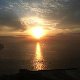 Atlantic City Sunset by John Telfer