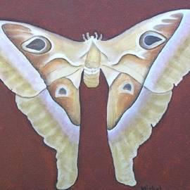 Atlas Moth by Mishel Vanderten