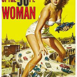 Gianfranco Weiss - Attack of the 50 FT Woman Poster