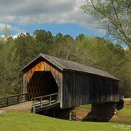 Auchumpkee Creek Covered Bridge by Mike Fitzgerald